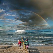 Two Rainbows by Dariusz Klimczak