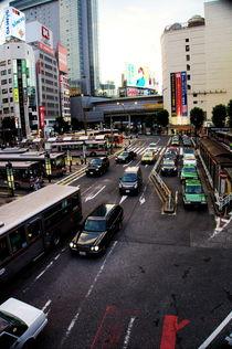 Busbahnhof in Shibuya von framboise