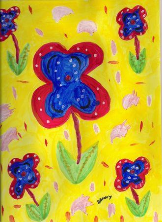 Number-5-floral