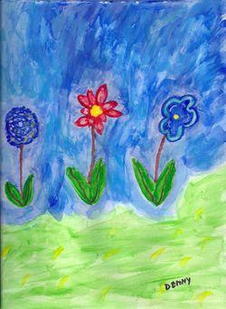 Number-8-floating-flowers