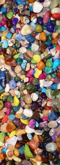 Colorful Pebbles by Juergen Seidt