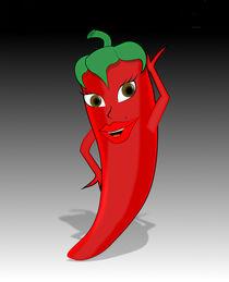 Hot Pepper Diva by Ricardo de Almeida