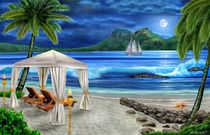 TROPICAL PARADISE by holbrookart