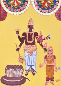 Varahamurti by Pratyasha Nithin