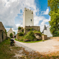 Burg Sterrenberg-Innenhof (1) by Erhard Hess