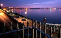 Swansea Bay at night von Leighton Collins