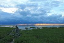 East Frisian Clouds with rain II von wattfrucht