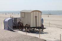 Norderneyer Strand am Mittag von wattfrucht