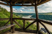 Hütte am 3-Burgen-Blick von Erhard Hess