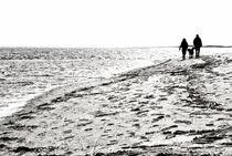 Beach walk by Mike Santis
