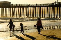 Strandspaziergang von caladoart