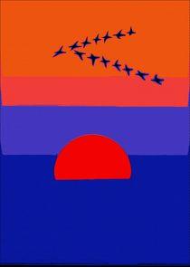 Fly Into The Sunset von Florian Rodarte