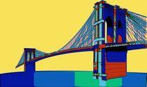 Brooklyn Bridge Colors von Florian Rodarte