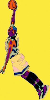 The Basketball Player von Florian Rodarte