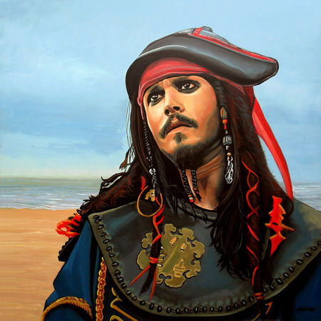 Johnny-depp-painting