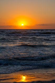 Sonnenuntergang am Weststrand vom Darß by Thomas Ulbricht