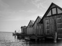 Bootshäuser in Althagen von Thomas Ulbricht