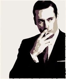 Don Draper Poster Art by Florian Rodarte