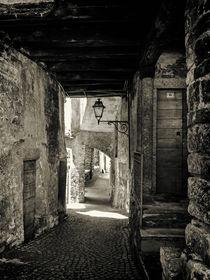 black and white - italian alleys 2 von brava64