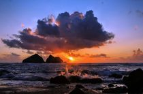 Sunset splash by Jeremy Sage