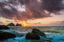 Cornish sunset by Jeremy Sage