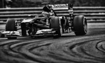 Formula 1 Fernando Alonso Ferarri by Srdjan Petrovic