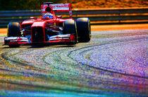Formula 1 Fernando Alonso Ferarri von Srdjan Petrovic