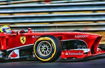 Formula 1 Felipe Massa by Srdjan Petrovic
