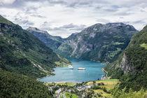 Blick auf den Geirangerfjord by Rico Ködder