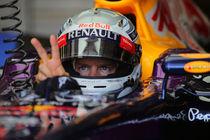 Formula 1 Sebastian Vettel von Srdjan Petrovic