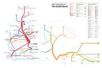Known World Transit Map (Game of Thrones) von Michael Tyznik