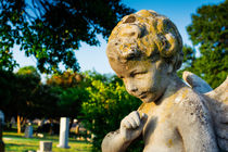 Memphis Elmwood Cemetery - Boy Angel by Jon Woodhams