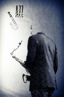 Jazz Club Poster by cinema4design