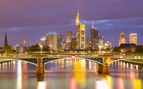Skyline Frankfurt von photoart-hartmann
