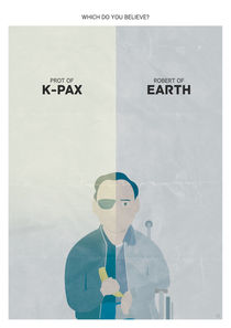 Alternate 'K-PAX' Movie Poster von Post Graphic
