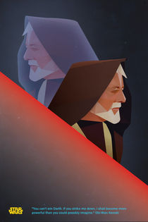 Alternate 'Star Wars' Movie Poster von Post Graphic