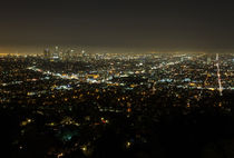 Los Angeles At Night von timbo210