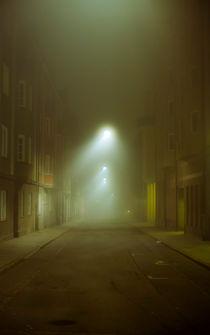 Foggy Alley by Svante Berg