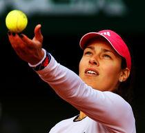 Tennis Star Ana Ivanovic by Srdjan Petrovic