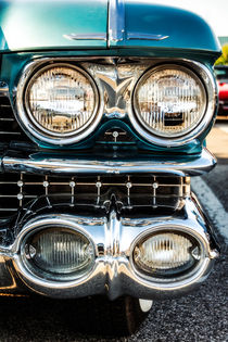 Detail - 1959 Cadillac Sedan Deville Series 62 Grill by Jon Woodhams