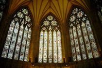 Kirchenfenster Minster York von Sabine Radtke