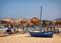 Boat on the Beach von Dietmar Wolf