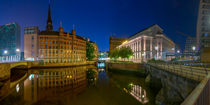 Hamburg City by night von moxface