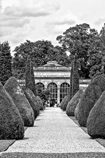 Path to the Orangery by Vicki Field