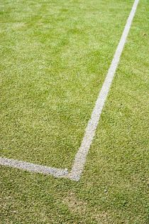 Tennis Court Corner von Harald Walker