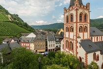 Über den Dächern von Bacharach von Erhard Hess
