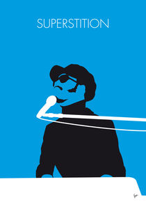 No039 MY STEVIE WONDER Minimal Music poster by chungkong