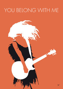 No043 MY TAYLOR SWIFT Minimal Music poster by chungkong