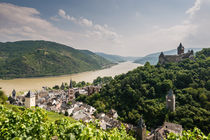 Bacharach mit Stahleck 6 by Erhard Hess