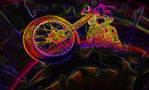 Motorradfan...Freiheit grenzenlos 5 by Walter Zettl